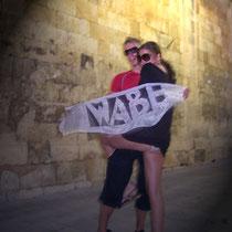 Angelisa & Brett in Palma de Mallorca