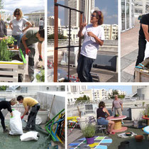Les bénévoles du projet