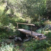 Passerelle pour sentier découverte - Réserve Naturelle d'Eyne (66)