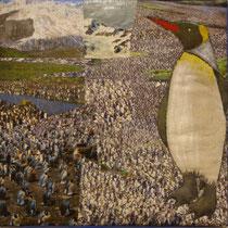 Pinguin, 40 x 40 cm