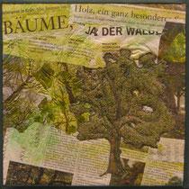 Im Wald, 30 x 30 cm
