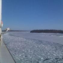 Einfahrt nach Helsinki