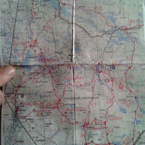 Trailkarte: Es gibt schier unendliche Möglichkeiten.