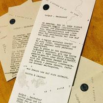 Eigenes Projekt *Einladung Meditationsworkshop* . 02/12