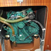 Service an einem Dieselmotor