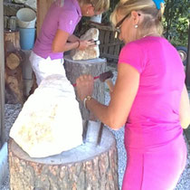 Skulptur aus Sandstein fertigen