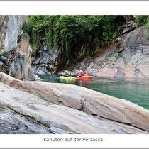 Kanuten auf der Verzasca