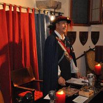 Begrüßung durch den hochedlen Großmeister Wulfing von Freyensteyn