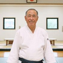30周年記念誌のポートレート。大宮武道館にて 当時75歳