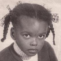 Roberte à 4 ans