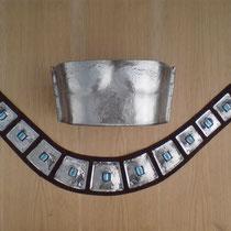 Brustpanzer und Gürtel Kostüm Meret Becker