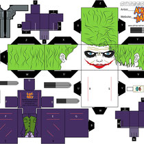 Plantilla recortable Joker