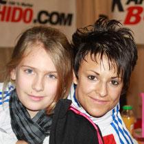 Zoé et sandy scordo, vice championnedu monde kata 2012