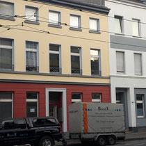 Fassade saniert und neu gestrichen