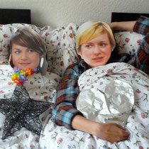 In bed with Jemma