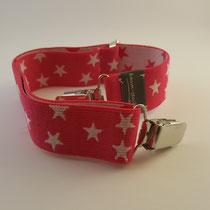 Kindergürtel Sterne pink