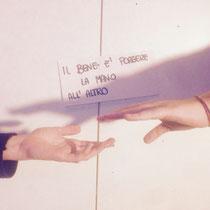Porgere la mano Francesca