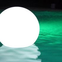 jeux de lumière piscine