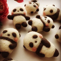 hohoho_panda(フェルトパンダ制作)