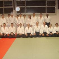 le mardi 27 novembre 2012 à lyon avec M. Gérald Polat 5éme dan Aikido