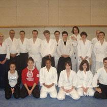 le mercredi 28 novembre 2012 à lyon avec Mme Marie Burdin de Ecole européenne pour l'Aïkido