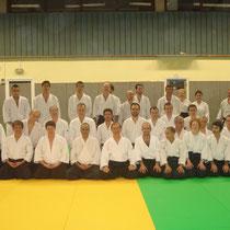 le vendredi 30 novembre 2012 à lyon avec M.Robert Dalessandro 6éme dan Aikido