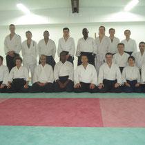 le jeudi 29 novembre 2012 à lyon  avec M.Didier Allouis 6éme dan Aikido