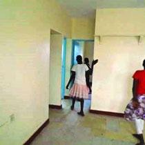 Saubere Räume ...