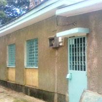 Das neue Waisenheim von Außen