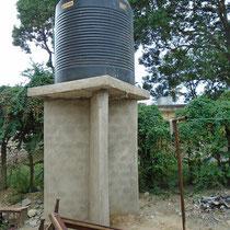 ...einen Wassertank