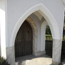 Fassade und Steinimitation