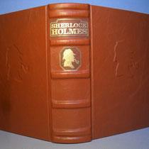 Sherlock Holmes von Sir Arthur Conan Doyle cognacfarbenes Leder N°546