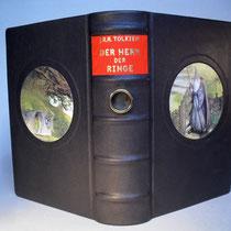 Herr der Ring mit Illustrationen auf Vorder- und Rückseite N°537