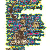 Fall II, Collage, 24 x 19 cm