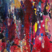 Untitled, Acrylics on Canvas, 60 x 40 cm