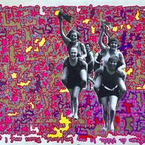 Riccardo I, Collage, 14 x 20 cm