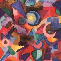 Watercolors, 10,5 x 14,8 cm.