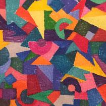 Watercolors on Paper, 10,5 x 14,8 cm.