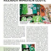 Bericht über Mich im Stadion Magazin unter Wölfen vom 10.03.2012