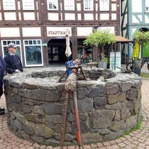 Brunnen mit Brunnengucker