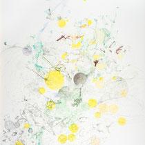 Kristin Finsterbusch, Z 2, Zeichnung, Bleistift, Farbstift, Kreide, 2014, 80 x 60 cm