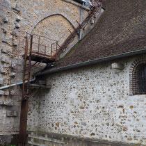 passerelle accès clocher