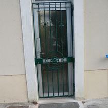 grille articulée fermée
