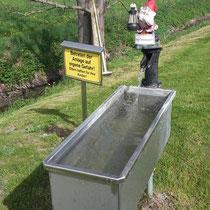 Armbecken in 86860 Ummenhofen  bei Jengen - Weiherweg -Privat - Nutzung gestattet-auf eigene Gefahr! (Ostallgäu)