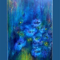 Nr.1/01   Aquarell auf Büttenspezialpapier  Fin Art 88x66 cm  Karton - Passepartout, inkl. Glas, mit Holzrahmen u. Rückwand  €  750,-