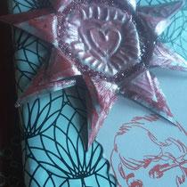 Geschenkanhänger aus Teelichthülle