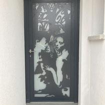 porte entrée artiste