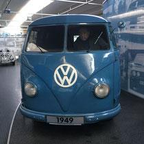 Wolfburg, Volkswagen Museum, ein Muss für uns als Bulliliebhaber