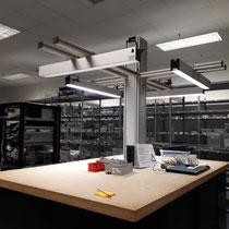 Anwendungsbeispiel der LED SAL Systemleuchte