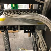 Tirage de câble et raccordement cuivre rj45